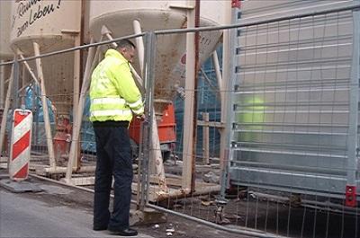 Baustellenschliessdienst